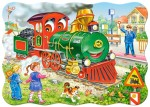 Puzzle Castor 600 - View of the Neuschwanstein Castle, Germany