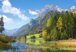 Puzzle Castor 4000 -  Viev of the Neuschwanstein Castle, Germany