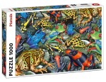 Puzzle Ravensburger 1000 -  Nabrzeże Sekwany, The banks of the Seine