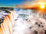 Puzzle Piatnik 1000 - van Gogh, Pole pszenicy z cyprysami, Wheat field with cypresses