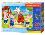 Puzzle Castor 60 - Wizyta w ZOO, Zoo Visit