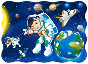 Puzzle Castor 600 -  Widok na Alhambrę, View of the Alhambra