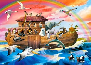 Puzzle Castor 4000 - Mosty Wełtawy, Praga, Vltava Bridges in Prague