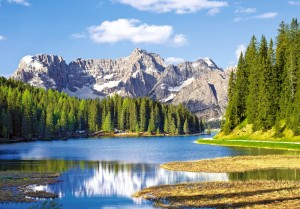 Puzzle Castor 4000 -  Świat winnic, Vineyard Village