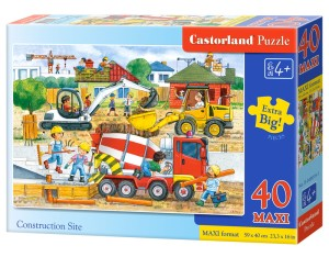 Puzzle Ravensburger 1500 - Widok w dolomitach, View in the Dolomites