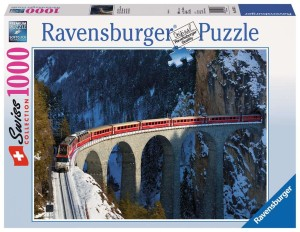 Puzzle Ravensburger 1000 - London - Frans Le Roux