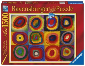 "Puzzle Ravensburger 1000 - Colin Thompson - Niesamowity alfabet A, Awesome Alphabet ""A"""