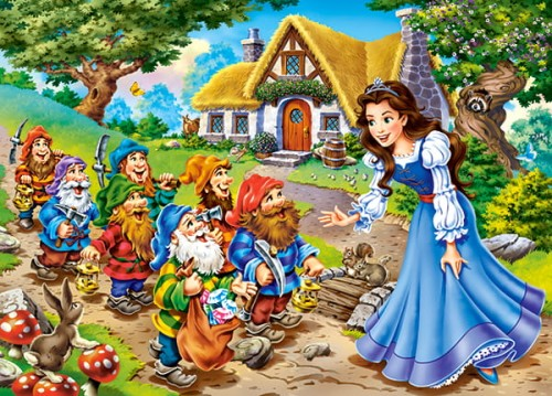 Puzzle Castor 30 Jelonek I Przyjaciele A Deer And Friends